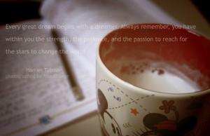 Raising a dreamer